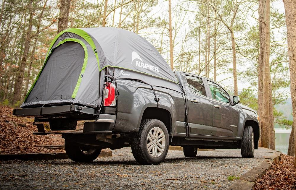 Can you use a truck tent with a tonneau cover